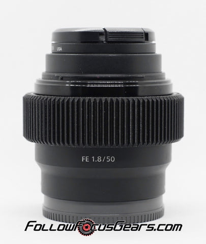 Seamless™ Follow Focus Gear for <b>Sony FE 50mm f1.8 </b> Lens