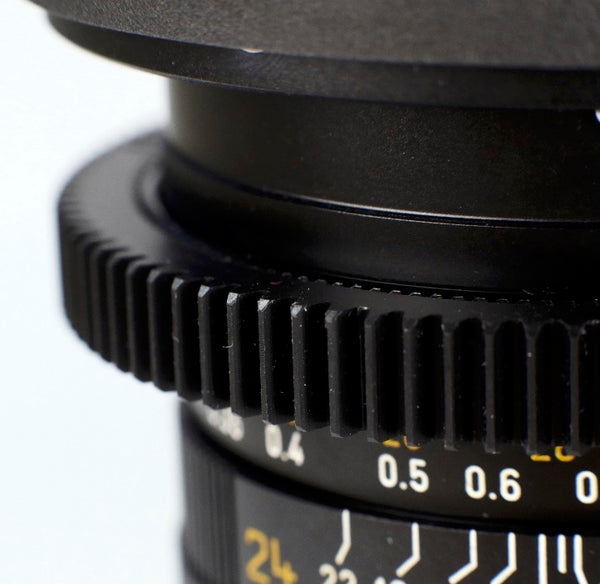 Seamless™ Follow Focus Gear for <b>Leica 90mm f2 Summicron - R APO ASPH</b> Lens