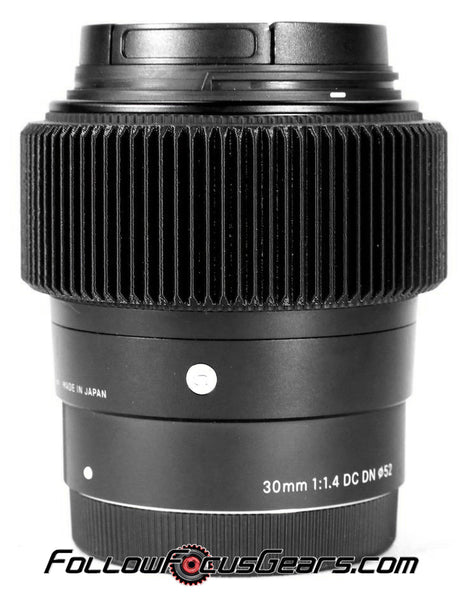 Seamless™ Follow Focus Gear for <b>Sigma 30mm f1.4 DC DN</b> Lens