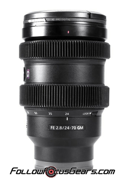Focus Lens Gear for Sony FE 24-70mm f2.8 GM