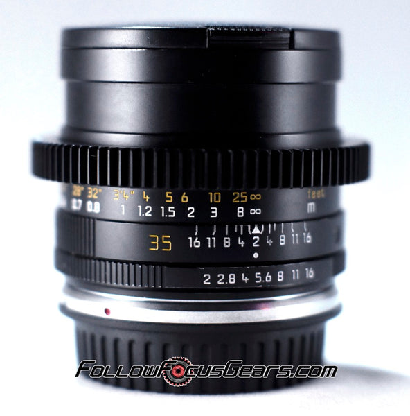Seamless™ Follow Focus Gear for <b>Leica 35mm f2 Summicron - R II (E55)</b> Lens
