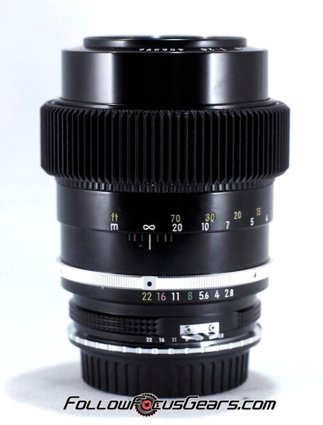 Seamless™ Follow Focus Gear for <b>Nikon Nikkor - K 135mm f2.8</b> Lens