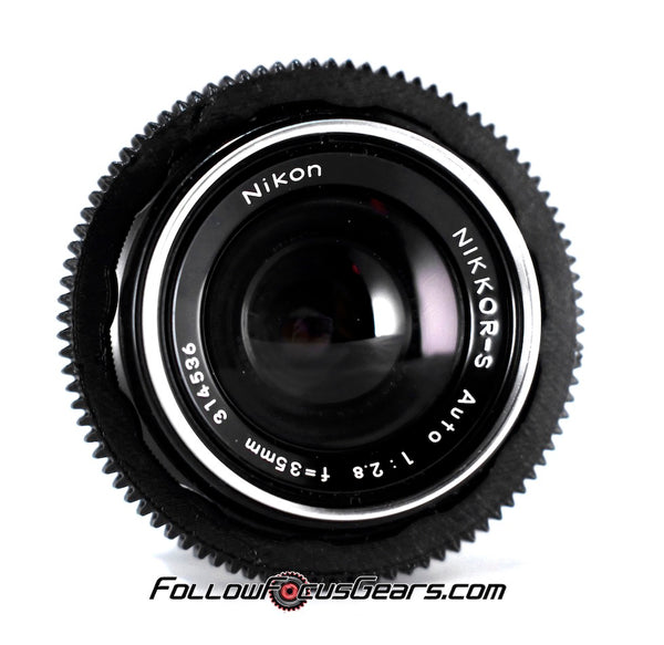 Seamless™ Follow Focus Gear for <b>Nikon Nikkor - S 35mm f2.8</b> Lens