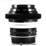 Seamless™ Follow Focus Gear for <b>Nikon Nikkor - H 85mm f1.8</b> Lens
