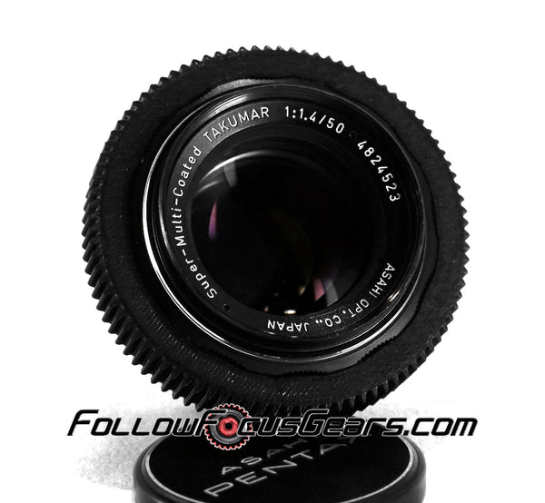 Seamless Lens Gear for Super Multi Coated Takumar 50mm f1.4