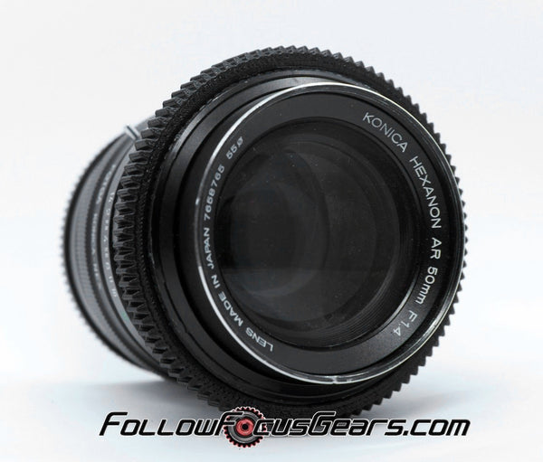 Lens Gear for Konica Hexanon 50mm f1.4