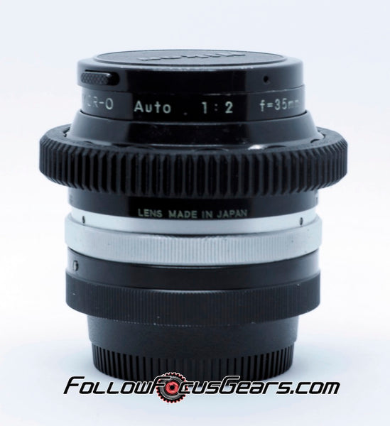 Seamless Focus Gear for Nikon Nikkor O 35mm f2 Lens
