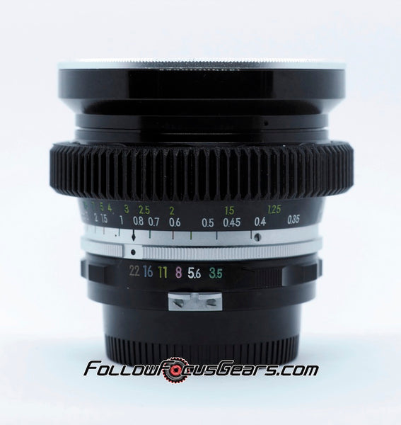Seamless Cine Gear for Nikon UD 20mm f3.5 Lens