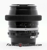 Seamless Lens Gear for Nikon N 28mm f/2.0