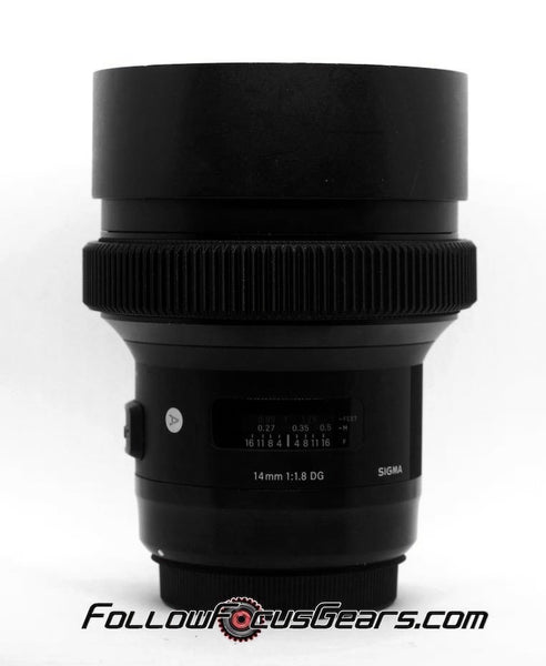 Seamless Focus Gear for Sigma 14mm f1.8 DG Art Lens