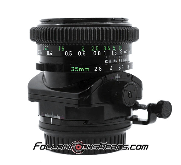 Seamless Follow Focus Gear for Canon FD 35mm f2.8 SSC Tilt Shift Lens