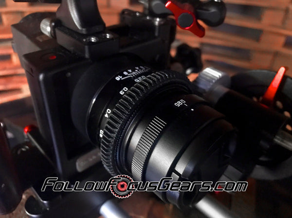 Seamless™ Follow Focus Gear for <b>Zhongyi Mitakon Speedmaster 25mm f.95</b> Lens