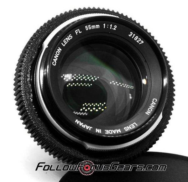 Seamless™ Follow Focus Gear for <b>Canon FL 55mm f1.2</b> Lens