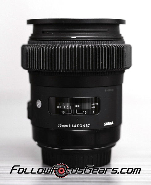 Seamless™ Follow Focus Gear for <b>Sigma 35mm f1.4 DG HSM Art</b> Lens