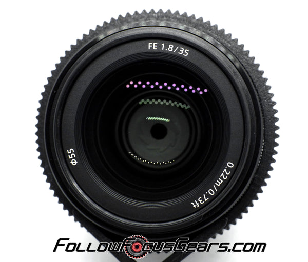 Seamless Gear for Sony FE 35mm f/1.8 Lens
