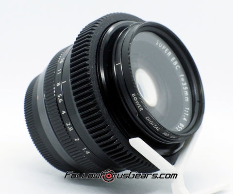 Seamless Focus Lens Gear for Fuji Fujinon 35mm f1.4 Lens