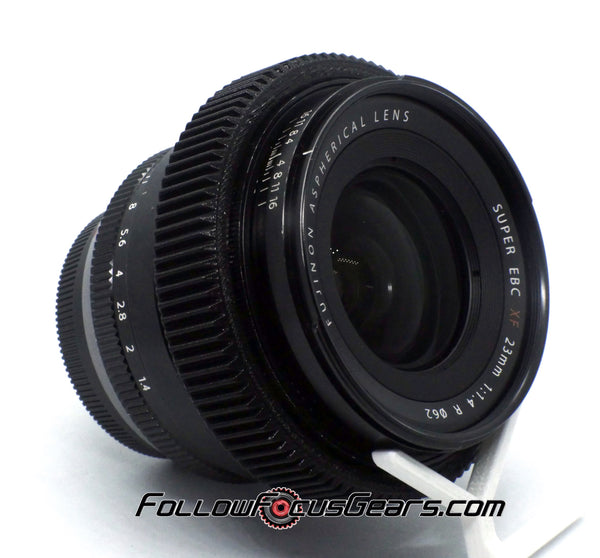Seamless Follow focus Gear for Fujinon Super EBC XF 23mm f1.4 R Lens