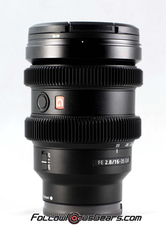 Seamless™ Follow Focus Gear for <b>Sony FE 16-35mm f2.8 GM</b> Lens
