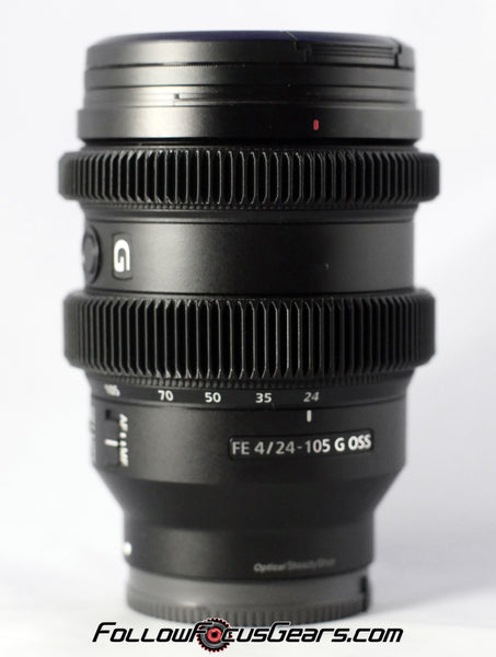 Seamless™ Follow Focus Gear for <b>Sony FE 24-105mm f4 G OSS</b> Lens