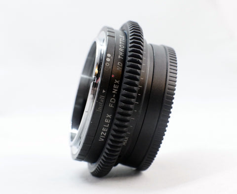 Seamless Follow Focus Gear for <b>VIZELEX FD-NEX THROTTLE</b>