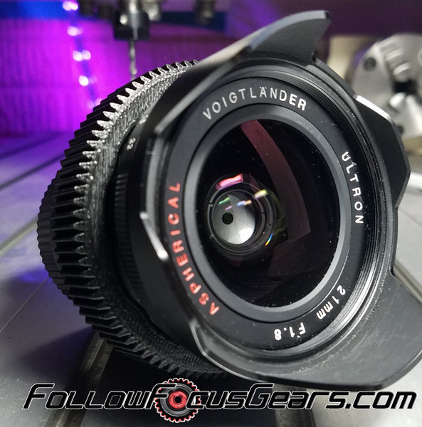 Seamless™ Follow Focus Gear for <b>Voigtlander 21mm f1.8 Ultron ASPH.</b> Lens