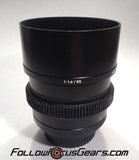 Seamless™ Follow Focus Gear Ring for Zeiss 85mm f1.4 Planar ZE Lens