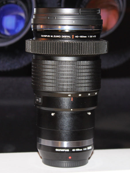 Seamless™ Follow Focus Gear for <b>Olympus M. Zuiko 40-150mm f2.8 Pro</b> Lens