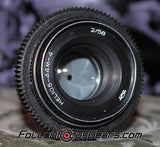 Seamless Follow Focus Gear for <b>Helios 58mm f2 44M-4</b> Lens