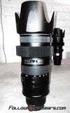 Seamless Follow Focus Gear for <b>Nikon AF-S 70-200mm f/2.8G ED II</b> Lens