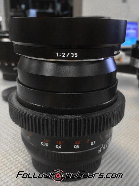 Seamless™ Follow Focus Gear for <b>Zeiss 35mm f2 Distagon ZE</b> Lens