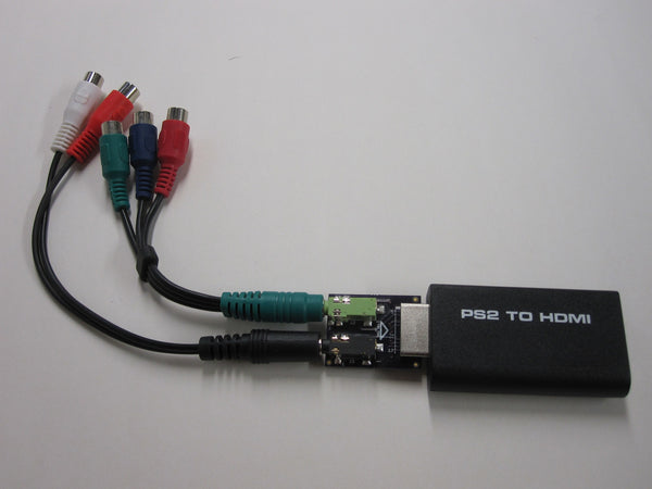 [PROTOTYPE] YPbPr-to-HDMI 240p Passthrough Adapter Kit