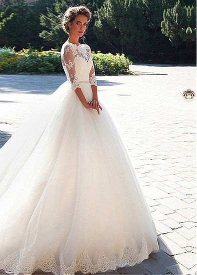 WEDDING DRESS - ELEGANT