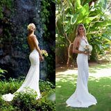 Mermaid Wedding Dress - Backless