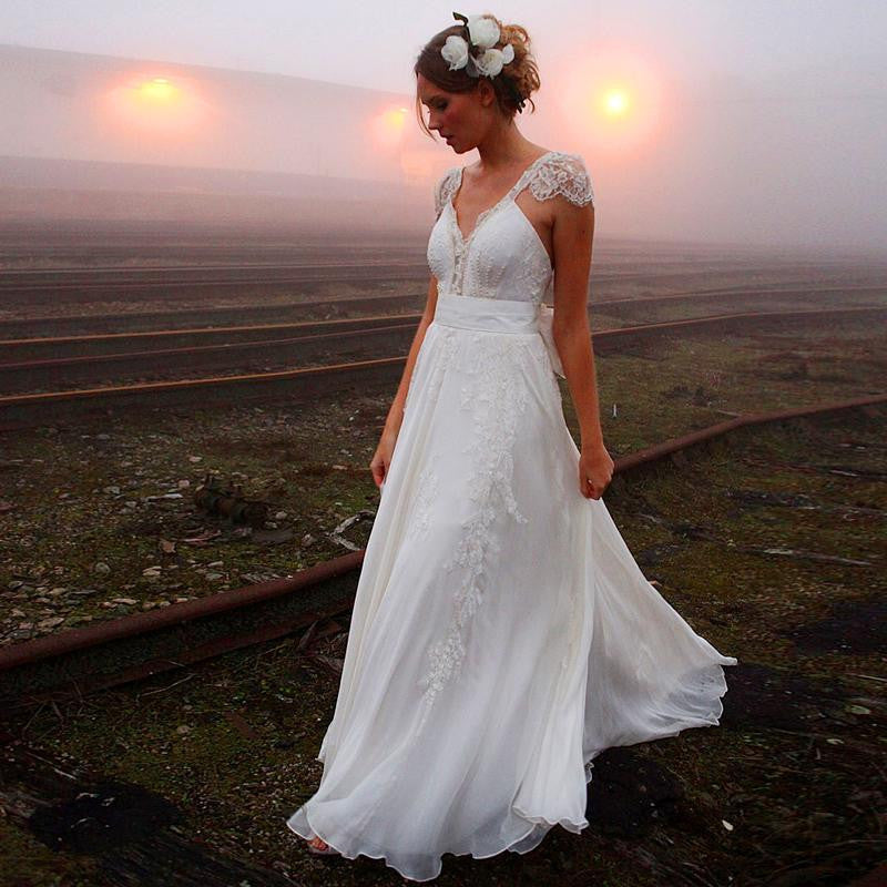 Boho wedding dress adventurous amysbridal boho wedding dress adventurous junglespirit Choice Image