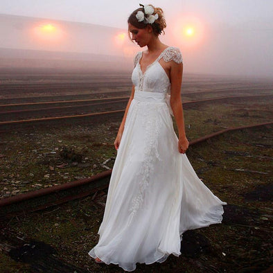 BOHO WEDDING DRESS - ADVENTUROUS