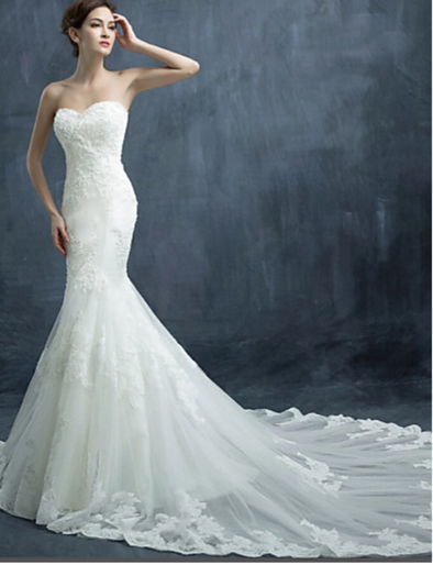 WEDDING DRESS - MERMAID