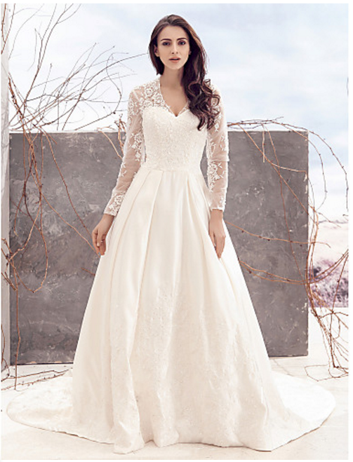 PLUS SIZE WEDDING DRESS - Alice – Amy\'sBridal