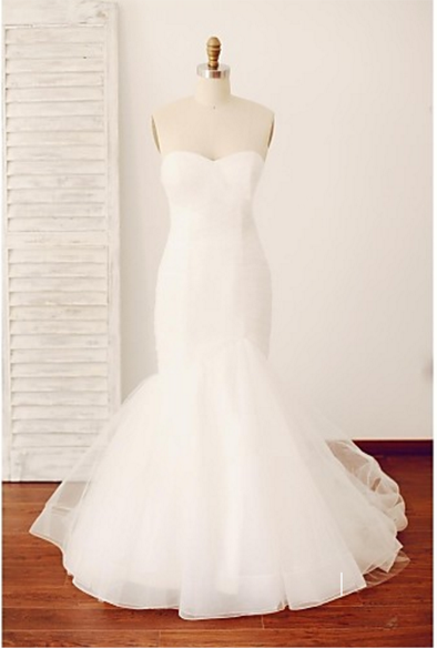 SWEETHEART MERMAID WEDDING DRESS - Classic