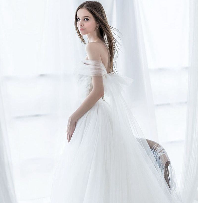 BOHO WEDDING DRESS - ANGEL