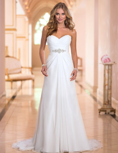 BOHO WEDDING DRESS - EMPIRE