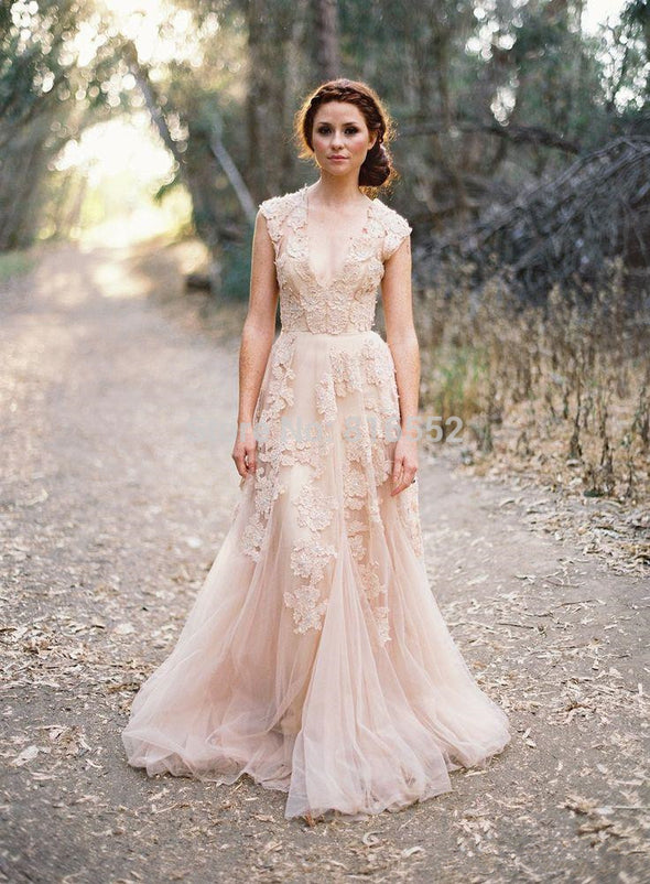 BOHO WEDDING DRESS - MAGICAL