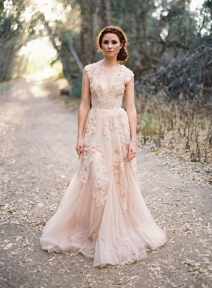 Boho Wedding Dress Magical