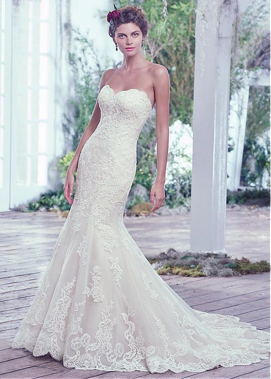 WEDDING DRESS - APPLIQUES