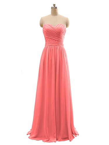 BRIDESMAID DRESS - RUSH, Color - Coral 3