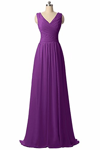 BRIDESMAID DRESS - RUSH, Color - Dark Purple 2