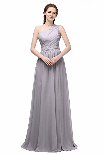 BRIDESMAID DRESS - RUSH, Color - Gray1