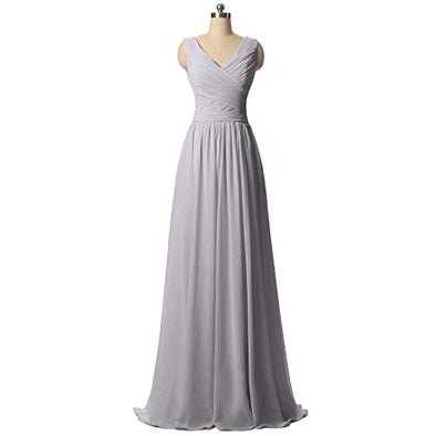 BRIDESMAID DRESS - RUSH, Color - Gray2