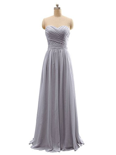 BRIDESMAID DRESS - RUSH, Color - Gray3