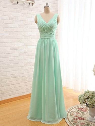 BRIDESMAID DRESS - RUSH, Color - Mine Green1
