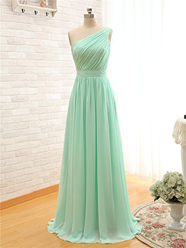 BRIDESMAID DRESS - RUSH, Color - Mine Green